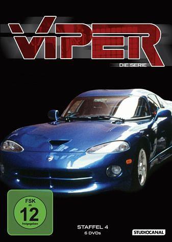 DVD »Viper - Staffel 4 (6 Discs)«