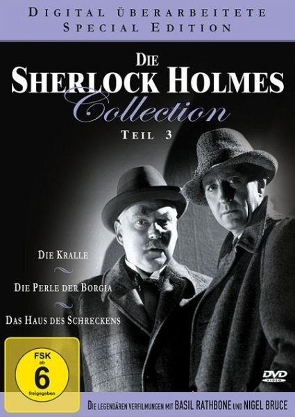 DVD »Die Sherlock Holmes Collection - Teil 3 DVD-Box«