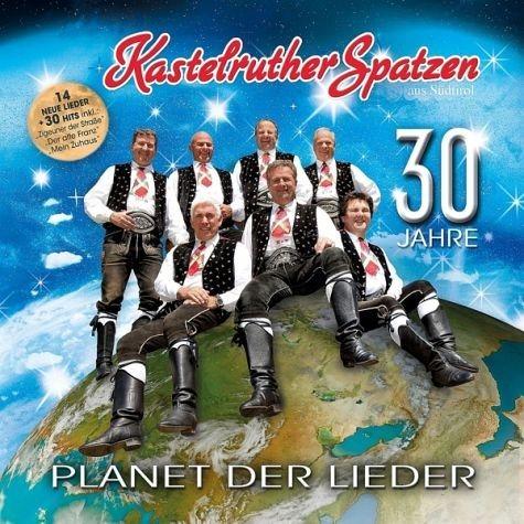 Audio CD »Kastelruther Spatzen: Planet Der Lieder«