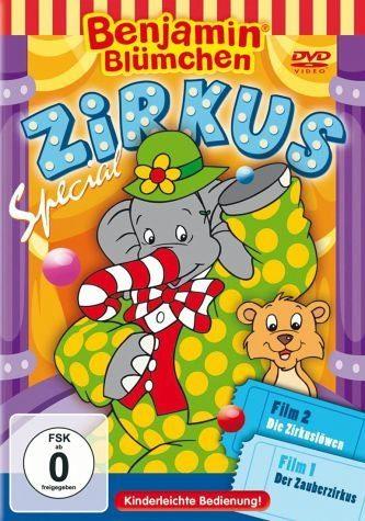 DVD »Benjamin Blümchen - Zirkus Specal (2 Discs)«