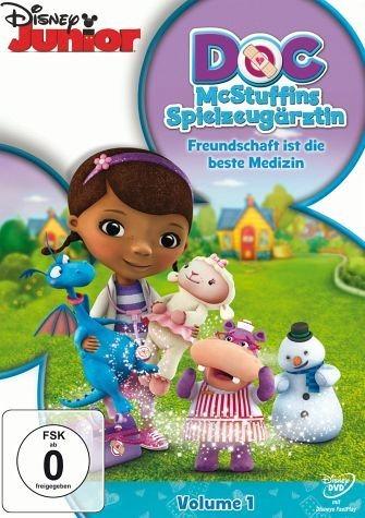 DVD »Doc McStuffins - Spielzeugärztin, Volume 1:...«