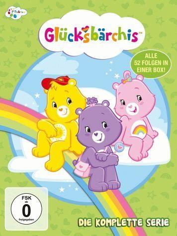 DVD »Glücksbärchis - Die komplette Serie (4 Discs)«
