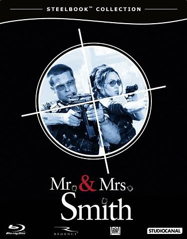 Blu-ray »Mr. & Mrs. Smith (Steelbook Collection)«