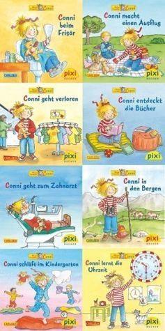 Broschiertes Buch »Pixi-Bundle 8er Serie 220: Neues von Conni«