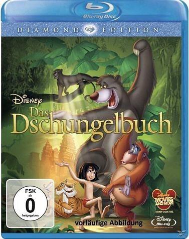 Blu-ray »Das Dschungelbuch, 1 Blu-ray (Diamond Edition...«