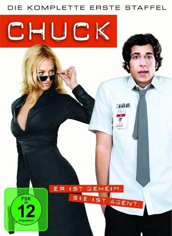 DVD »Chuck - Die komplette erste Staffel (4 DVDs)«