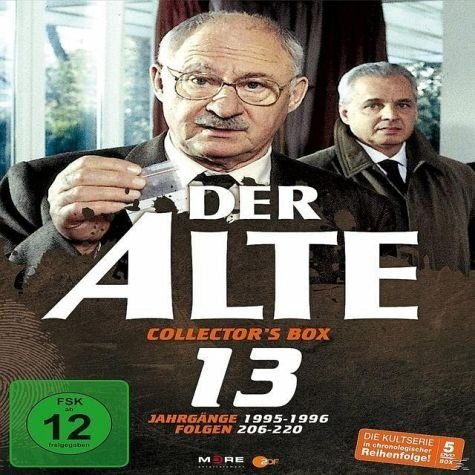 DVD »Der Alte - Collector's Box Vol. 13 (Folgen...«