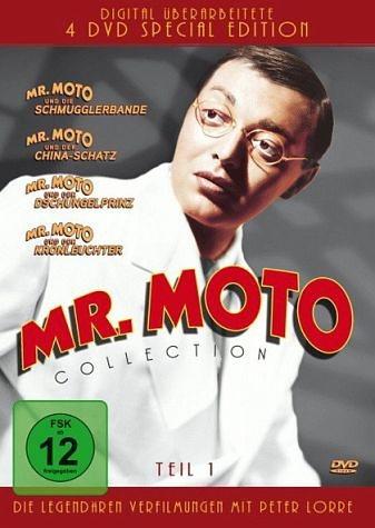 DVD »Mr. Moto Collection - Teil 1 (4 Discs)«