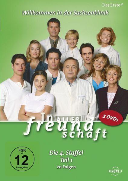 DVD »In aller Freundschaft - Die 04. Staffel, Teil...«