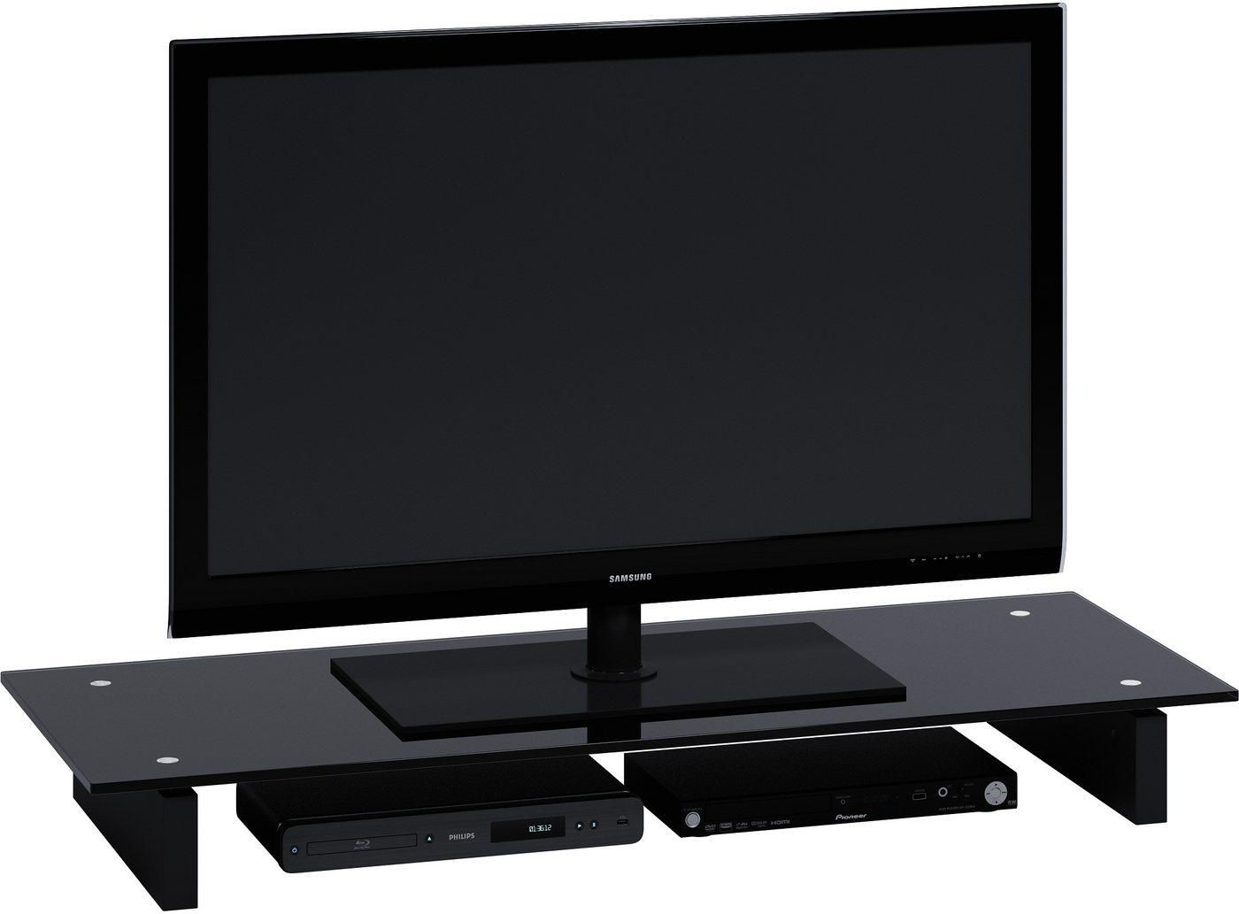 schwarzglas tv aufsatz preisvergleiche erfahrungsberichte und kauf bei nextag. Black Bedroom Furniture Sets. Home Design Ideas