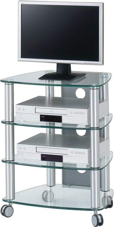 cuuba by jahnke tv rack cu sr 640 h he 74 cm otto. Black Bedroom Furniture Sets. Home Design Ideas