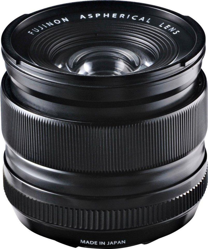 FUJIFILM FUJINON XF 14mm F2.8 R Ultraweitwinkel Objektiv in schwarz