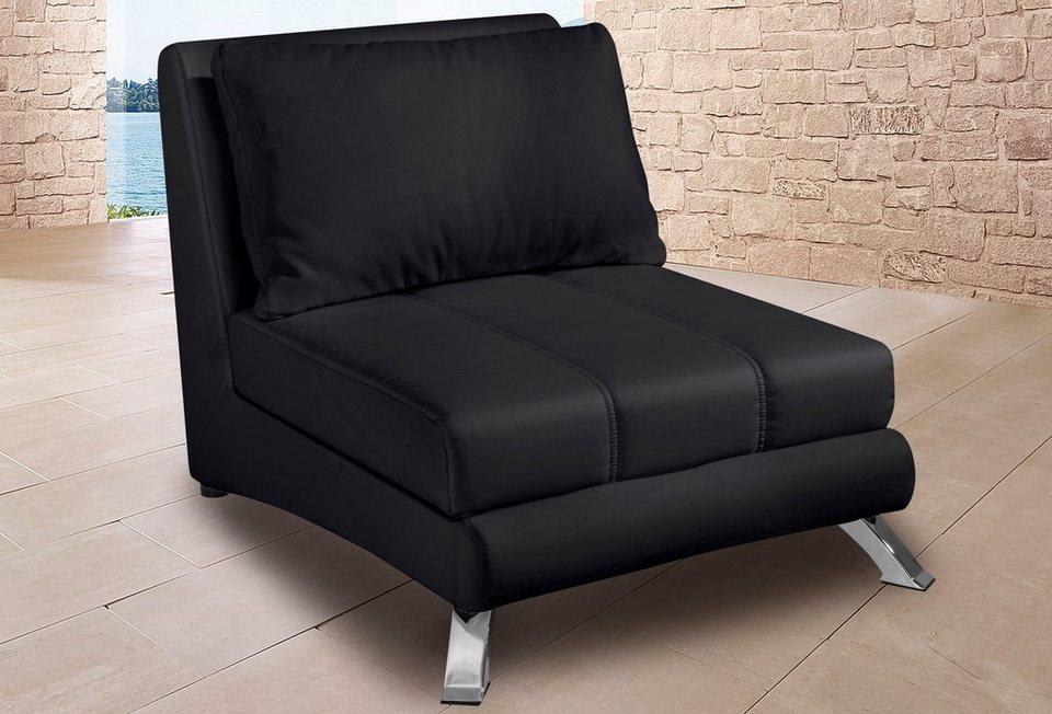 Sessel in schwarz