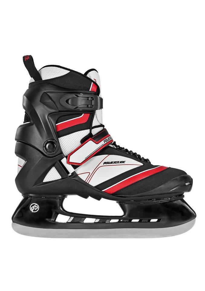 Schlittschuh Herren, schwarz-rot, »Thunder Hockey Skate«, Powerslide in schwarz-rot