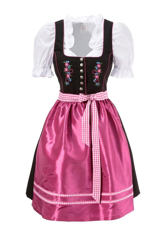 Dirndl 3tlg. in pink