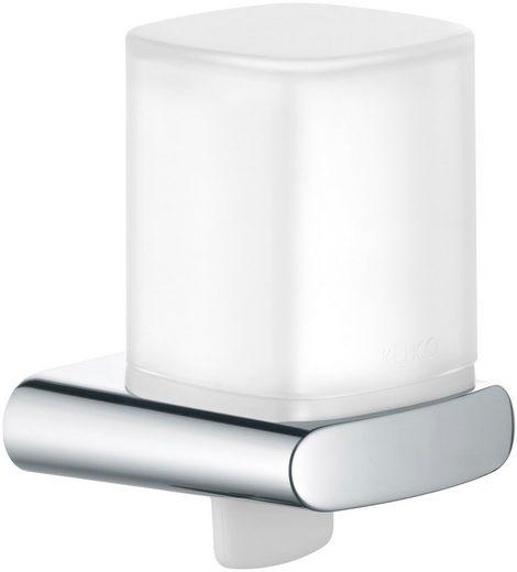 KEUCO Seifenspender »Elegance«, Kunststoff-Stülpbecher mattiert, 180 ml