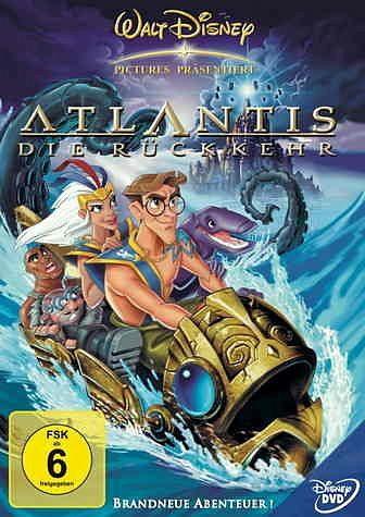 DVD »Atlantis - Die Rückkehr«