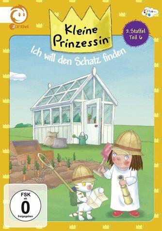 DVD »Kleine Prinzessin - Ich will den Schatz finden«