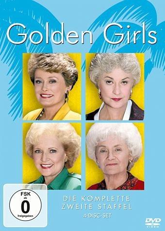DVD »Golden Girls, Staffel 2, 4 DVDs«