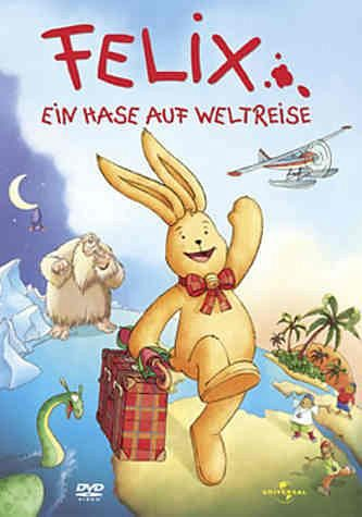 DVD »Felix, Ein Hase auf Weltreise, 1 DVD«