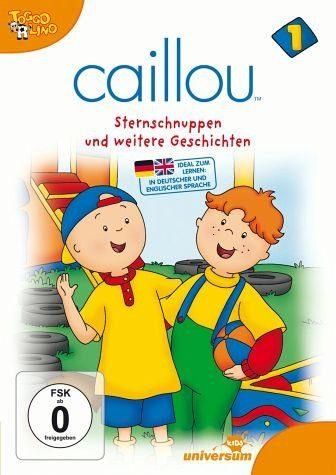 DVD »Caillou 1 - Gilbert muss zum Arzt und andere...«