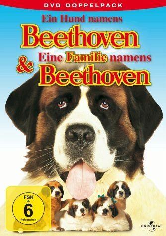 DVD »Ein Hund namens Beethoven & Eine Familie...«