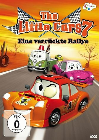 DVD »Little Cars, Vol. 7 - Eine verrückte Rallye«