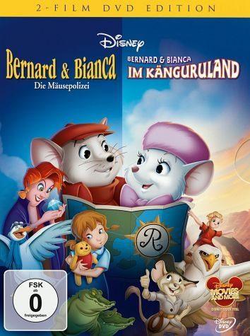 DVD »Bernard & Bianca - Die Mäusepolizei / Bernard...«