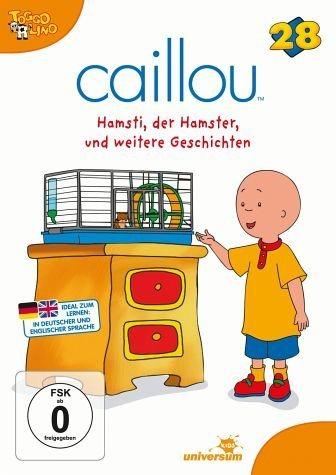 DVD »Caillou 28 - Hamsti, der Hamster und weitere...«