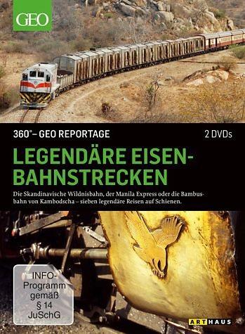 DVD »360° - GEO Reportage: Legendäre...«