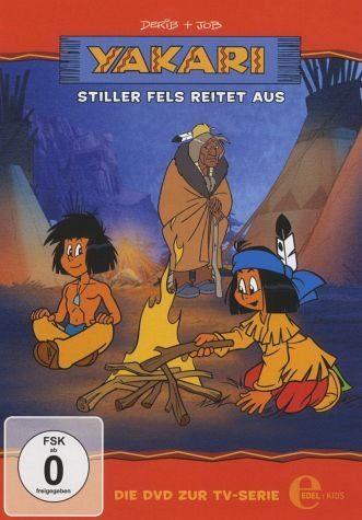 DVD »Yakari - Stiller Fels reitet aus«