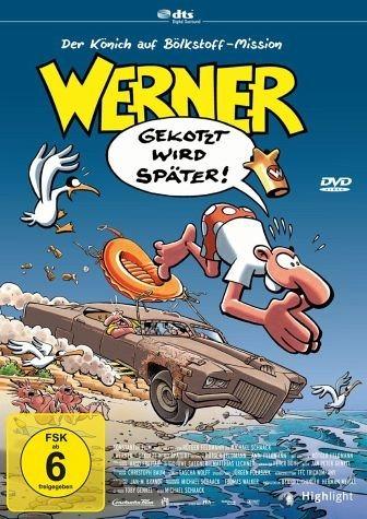 DVD »Werner - Gekotzt wird später!«