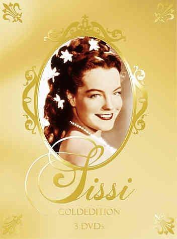 DVD »Sissi - Teil 1-3 (Goldedition, 3 DVDs)«