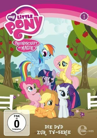 DVD »My Little Pony - Freundschaft ist Magie, Folge 01«