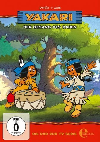 DVD »Yakari - Der Gesang des Raben«