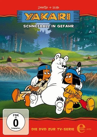 DVD »Yakari - Schneeball in Gefahr«