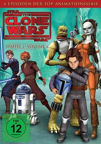 DVD »Star Wars: The Clone Wars - Staffel 2, Vol. 4«