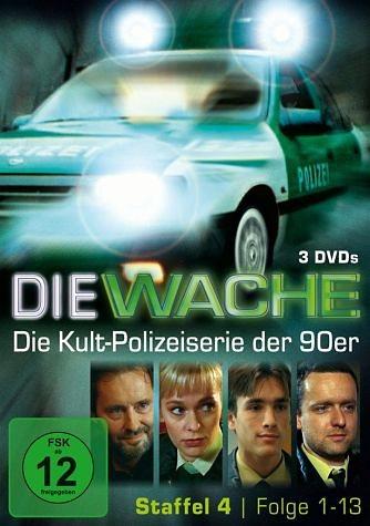 DVD »Die Wache - Staffel 4, Folgen 1-13 (3 Discs)«