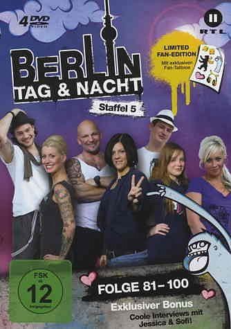 DVD »Berlin - Tag & Nacht - Staffel 05 (Folge...«