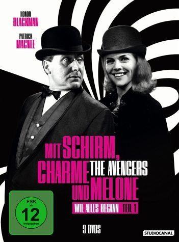 DVD »Mit Schirm, Charme und Melone - Edition 1: Wie...«