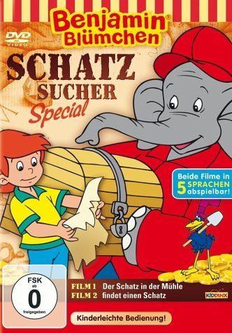 DVD »Benjamin Blümchen - Schatzsucher Spezial«