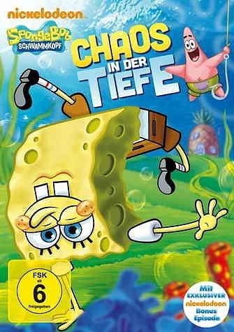 DVD »SpongeBob Schwammkopf - Chaos in der Tiefe«