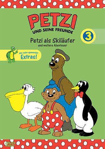 DVD »Petzi als Skiläufer und weitere Abenteuer«