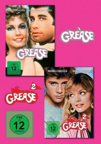 DVD »Grease 1 & 2«