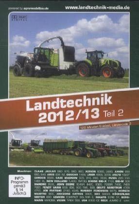 DVD »Landtechnik 2012/13, 1 DVD. Tl.2«