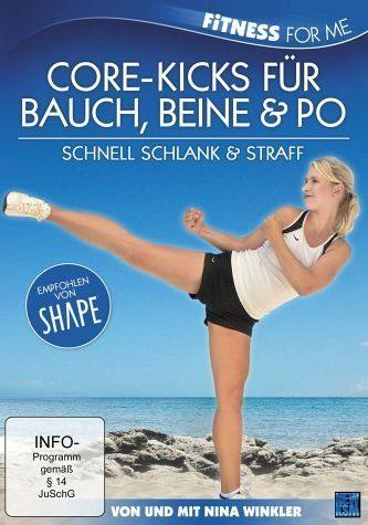 DVD »Core-Kicks für Bauch, Beine & Po«