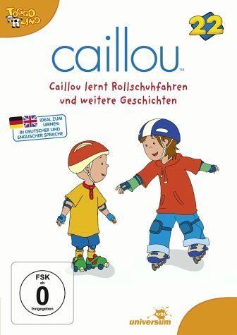 DVD »Caillou 22 - Caillou lernt Rollschuhfahren und...«