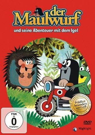 DVD »Der Maulwurf und seine Abenteuer mit dem Igel«