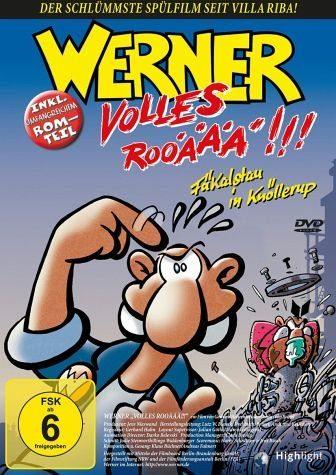 DVD »Werner - Volles Rooäää!!!«