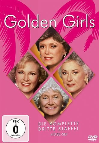 DVD »Golden Girls - Die komplette dritte Staffel (4...«